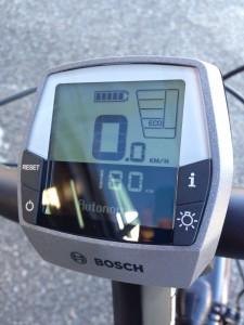 Display Intuvia BOSCH Ebike batterie 500Wh autonomie maximum