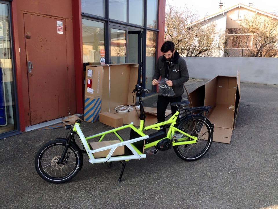 Le vélo idéal pour transporter ses enfants avec le maximum de confort.
