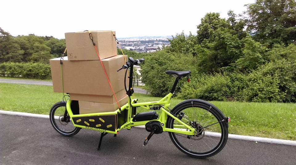 velo transport de marchandises